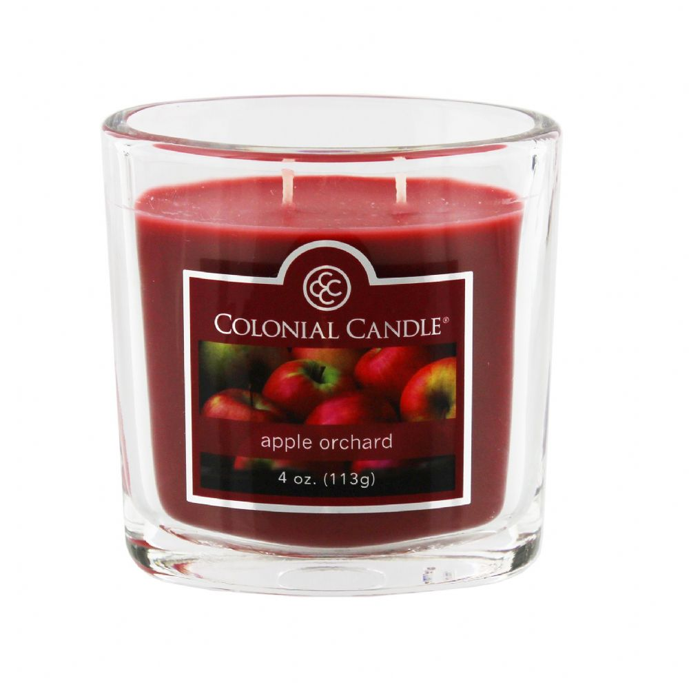 Apple Orchard Scented Candle by Colonial Candle Autumn Fragrance